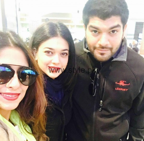See Sanam Jung's pictures from USA Tour
