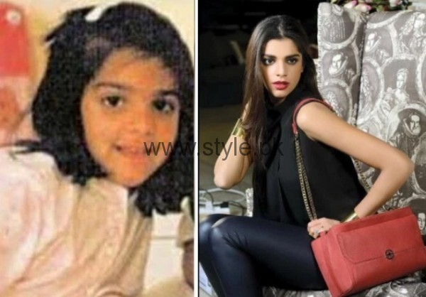 Sanam Saeed Childhood