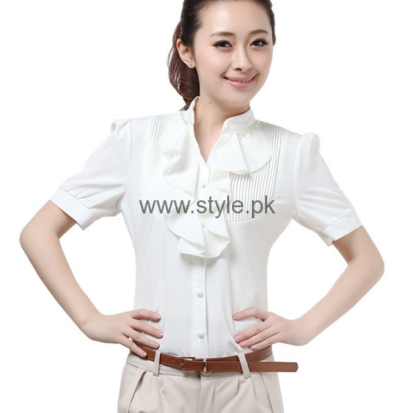 White Summers Tops for Women 2016 (6)