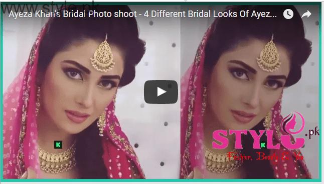 Ayeza Khan's Bridal Photo Shoot