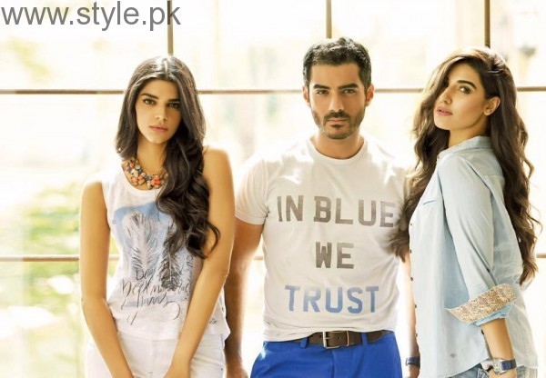 Cast of Dobara Phir Se's photoshoot for PepeJeans (2)