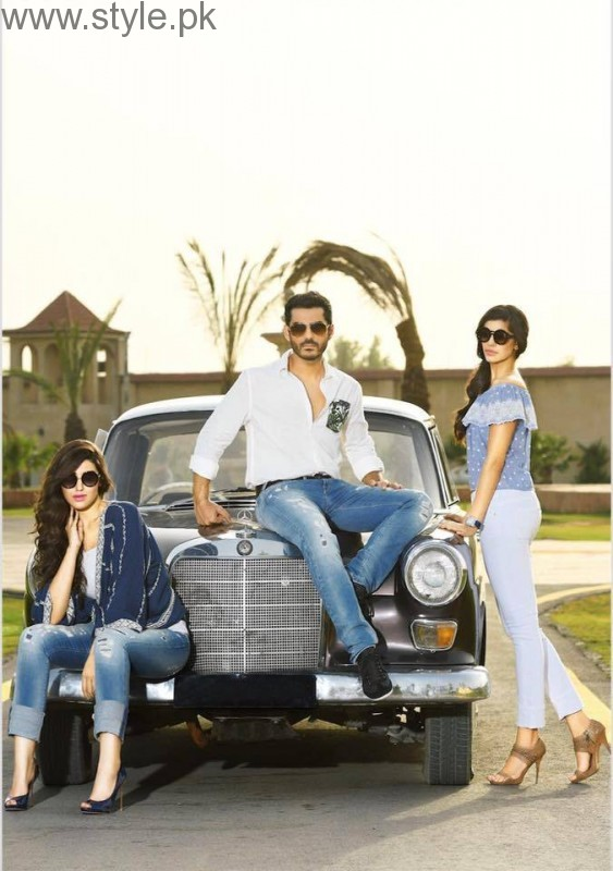 Cast of Dobara Phir Se's photoshoot for PepeJeans (8)