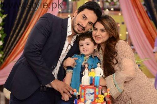 See Fatima Effendi and Kanwar Arsalan celebrated their son's third birthday