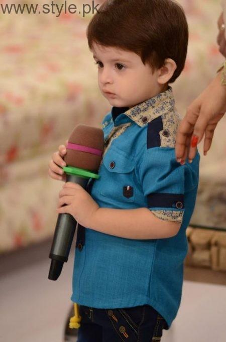Fatima Effendi and Kanwar Arsalan celebrated their son's third birthday (12)