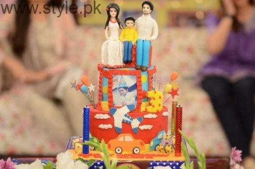 Fatima Effendi and Kanwar Arsalan celebrated their son's third birthday (4)