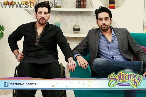 Humayun Saeed with his brothers (4)