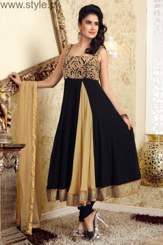 Latest Black Eid Dresses 2016 (12)