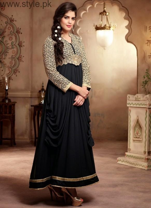 Latest Black Eid Dresses 2016 (8)