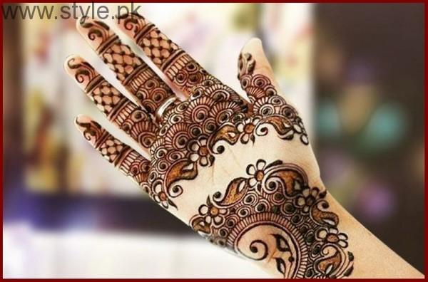 Latest Mehndi Designs for Eid-ul-Azha 2016 (19)