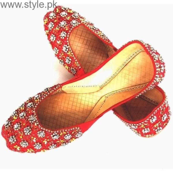 Latest Pakistani Khussa Designs 2016 for Eid (4)