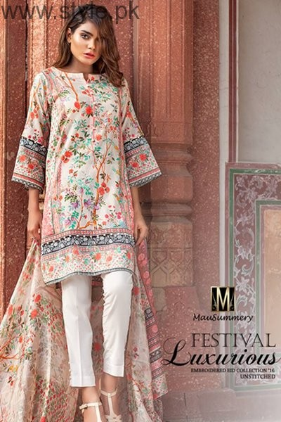 Mausummery Eid Ul Azha Dresses 2016 For Women007