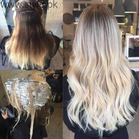 Micro-Foiling Technique for a perfect blonde
