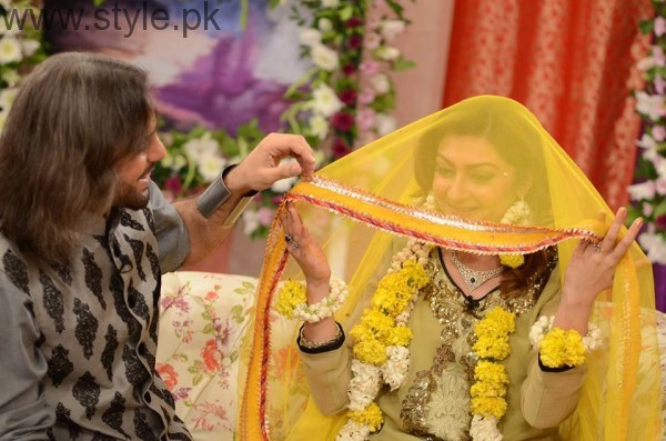Nouman Javaid and Jana Malik's Mehndi Pictures (13)