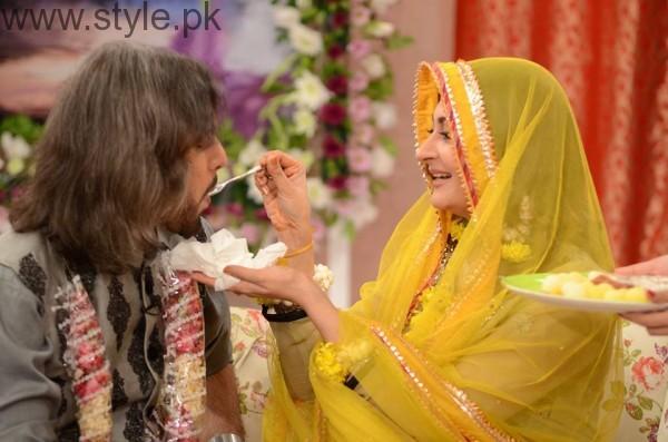 Nouman Javaid and Jana Malik's Mehndi Pictures (4)