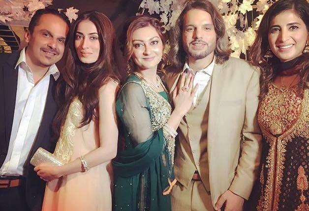 See Nouman Javaid and Jana Malik's Walima Pictures