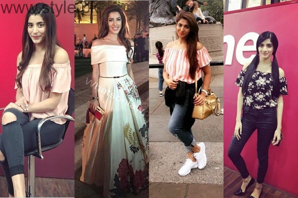 Off The Shoulder Fashion Trend in Pakistan - Worst Fashion (1)