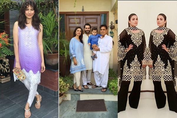 See Pakistani Celebrities on Eid-ul-Azha 2016 Day 2