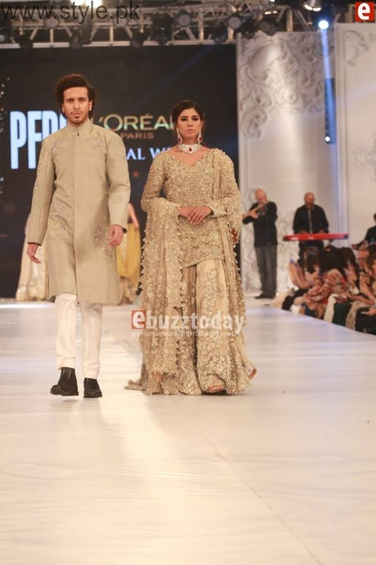 SairaShakira at PFDC L'Oreal Paris Bridal Week 2016 Day 1 (12)