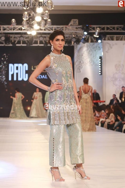 SairaShakira at PFDC L'Oreal Paris Bridal Week 2016 Day 1 (2)