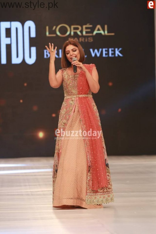 SairaShakira at PFDC L'Oreal Paris Bridal Week 2016 Day 1 (3)