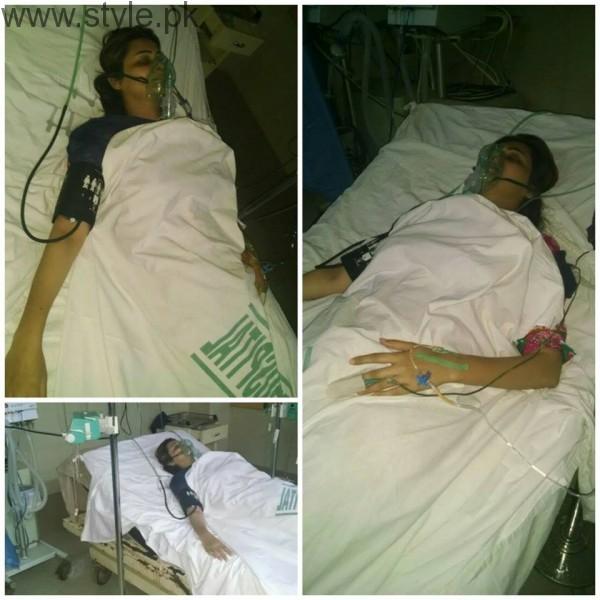 Sana Faisal in Hospital