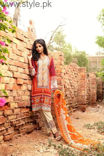 Shariq Textiles Midsummer Dresses 2016 For Women003