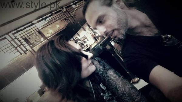 Singer Noman Javaid and Jana Malik