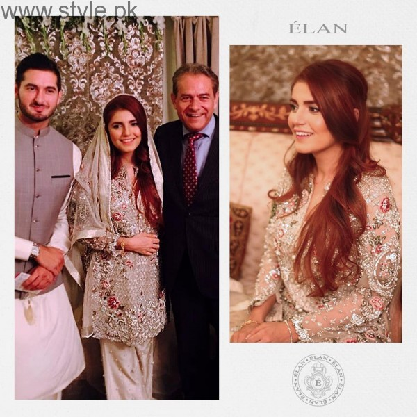 Momina Mustehsan Engagement Dress