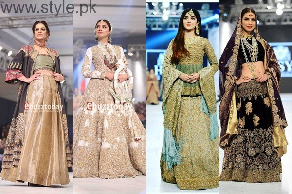 See 10 Best Dresses at PFDC L'Oréal Paris Bridal Week 2016