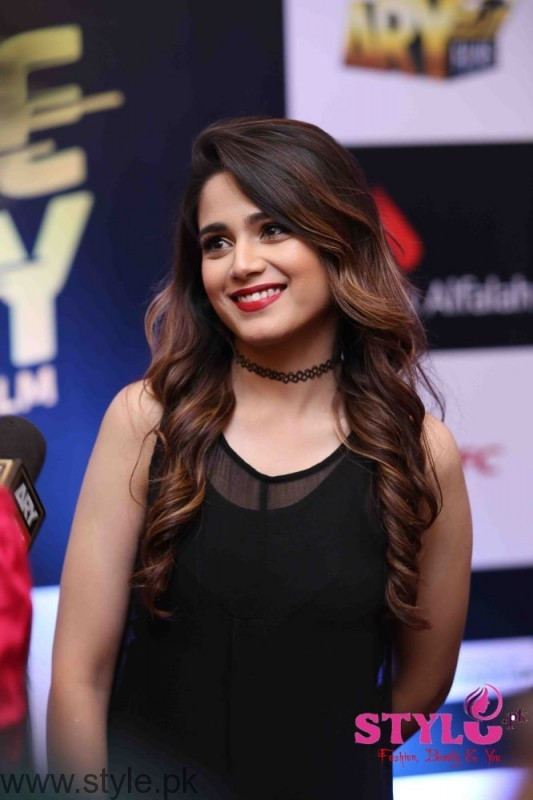Aima Baig at Media meet held for Lahore se Aagey