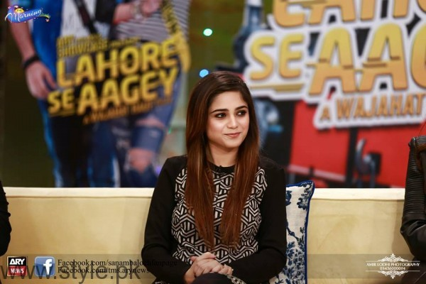 Aima Baig in The Morning Show