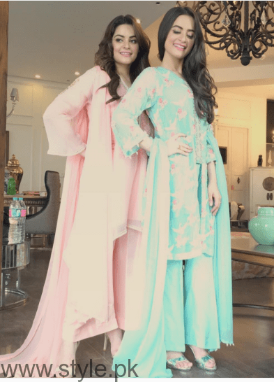 Aiman Khan and Minal Khan's photoshoot for Agha Noor (3)