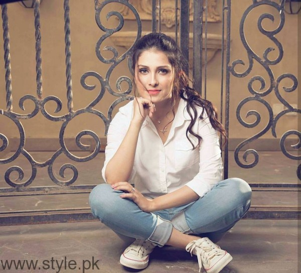 See Ayeza Khan's Photoshoot for OK Pakistan