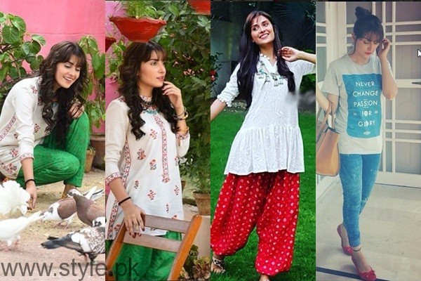 See Ayeza Khan's pictures from the set of 'Mohabbat Tum Se Nafrat Hai'
