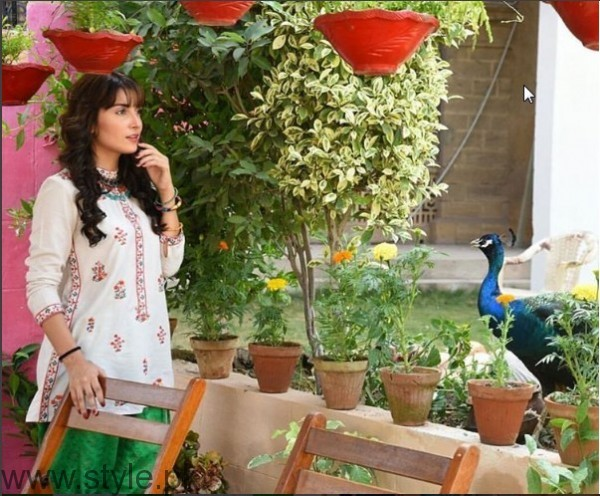 Ayeza Khan's pictures from the set of 'Mohabbat Tum Se Nafrat Hai' (4)