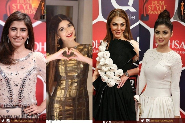 See Celebrities at Qmobile HUM Style Awards 2016