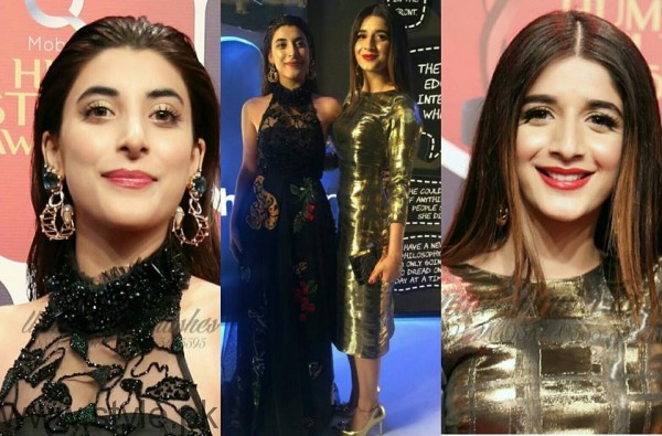 Celebrities at Qmobile HUM Style Awards 2016 (14)