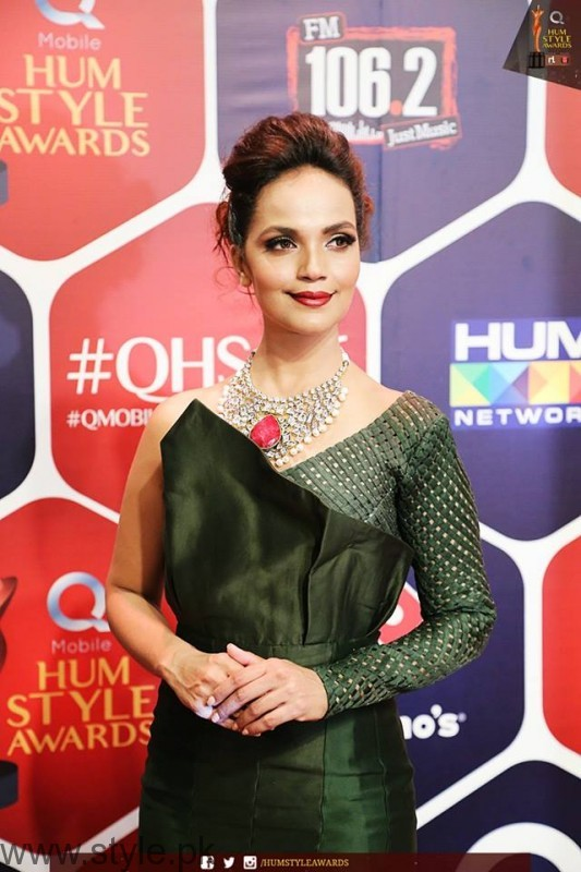 Celebrities at Qmobile HUM Style Awards 2016 (15)