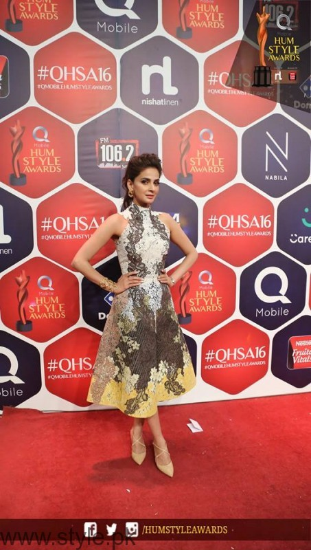 Celebrities at Qmobile HUM Style Awards 2016 (18)