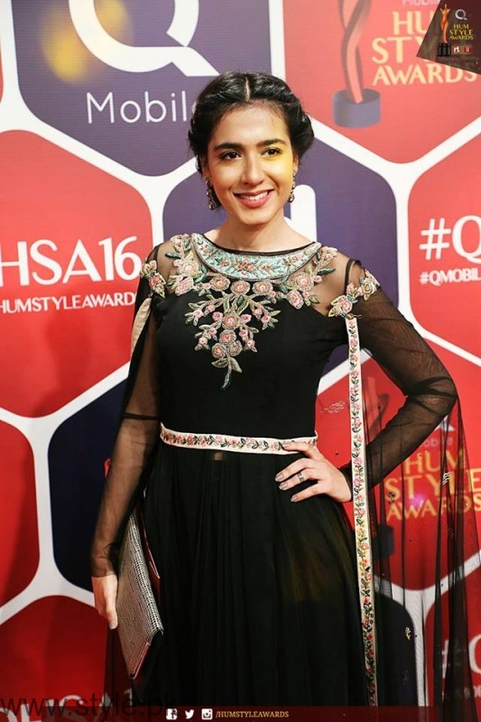 Celebrities at Qmobile HUM Style Awards 2016 (23)
