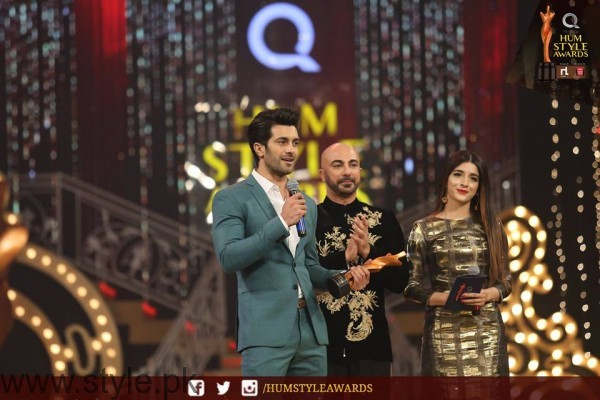 Celebrities at Qmobile HUM Style Awards 2016 (4)