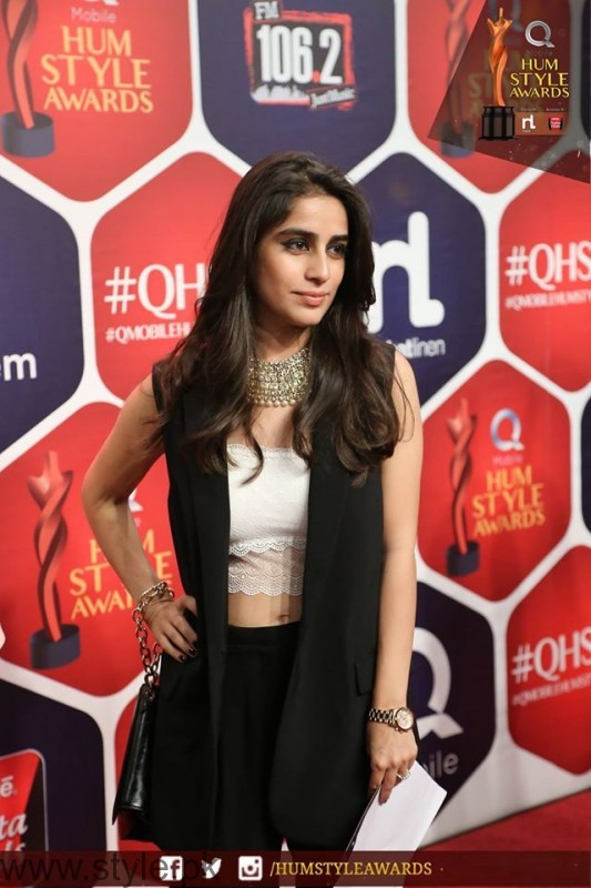 Celebrities at Qmobile HUM Style Awards 2016 (40)