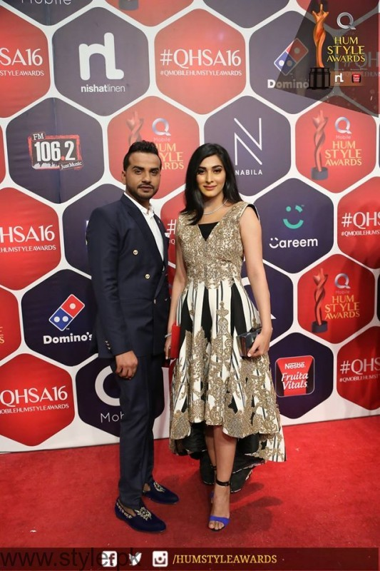 Celebrities at Qmobile HUM Style Awards 2016 (43)