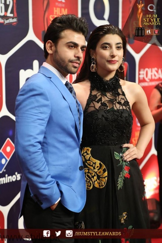 Celebrities at Qmobile HUM Style Awards 2016 (49)