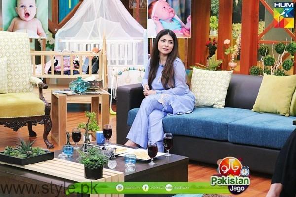 Dua Malik in Sanam Jung's Baby Shower Jago Pakistan Jago