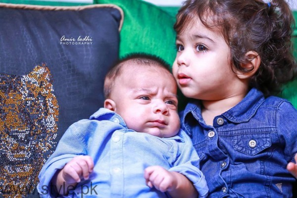 Dua Malik's Baby Boy and Girl