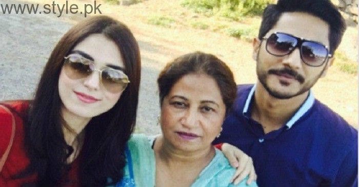 Maya Ali Family Pictures