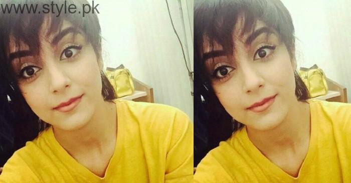 Maya Ali In Short Hairstyle