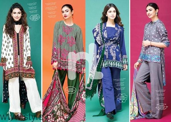 Nishat Linen Winter Dresses 2016 - 2017 For Women0010