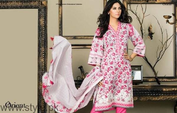 Orient Textiles Sawan Dresses 2016 For Women0012